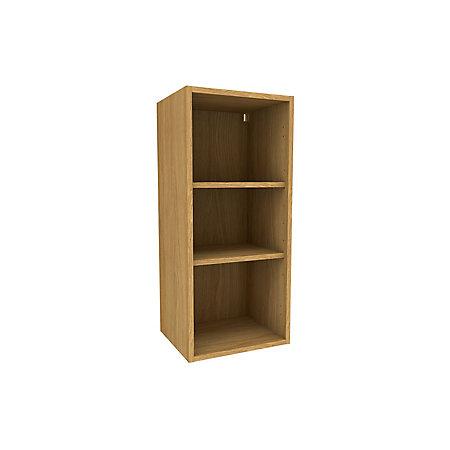 Cooke Lewis Oak Effect Standard Tall Wall Cabinet W