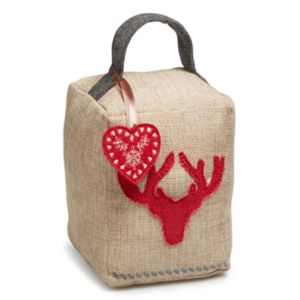 View Dasher Stag Head Red & Brown Door Stop details