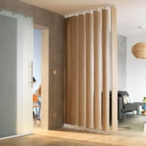 View Ella White Oak Effect Room Divider, Pack of 5 details