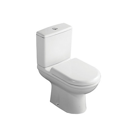 ideal standard della close coupled toilet with soft close seat departments diy at b q. Black Bedroom Furniture Sets. Home Design Ideas