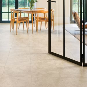 View Quick-Step Tila Cream Travertine Tile Effect Laminate Flooring 1 sq.m Pack details