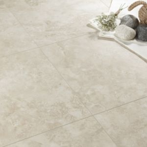 View Quick-Step Tila Cream Travertine Tile Effect Laminate Flooring details