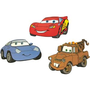 View Decofun Cars Self Adhesive Wall Stickers (L)300mm (W)175mm details