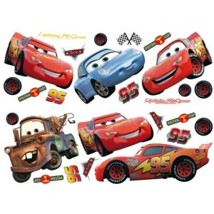 View Decofun Cars Self Adhesive Wall Stickers (L)720mm (W)250mm details