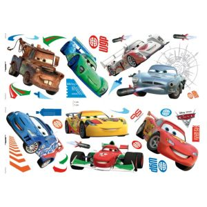 View Disney Cars Self Adhesive Wall Stickers (L)700mm (W)250mm details