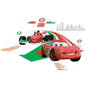 View Disney Cars Self Adhesive Wall Stickers (L)300mm (W)500mm details