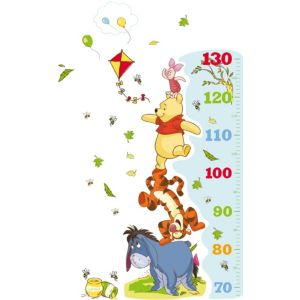 View Disney Winnie The Pooh Self Adhesive Growth Chart (L)700mm (W)250mm details