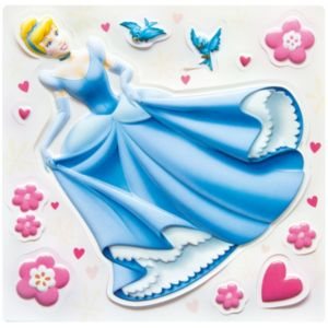 View Disney Princess Wall Stickers (L)300mm x (W)300mm details