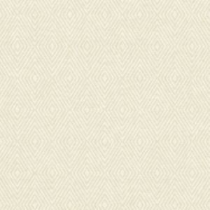 Image of Wall Fashion Origine Cream Geometric diamond Wallpaper