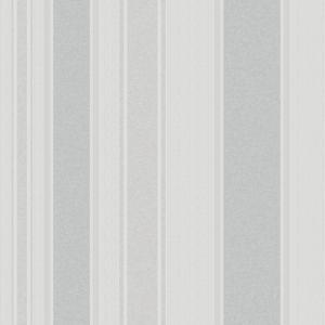 Image of Grandeco Boheme stripe Silver Stripe Glitter & mica Wallpaper