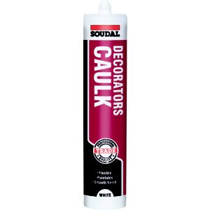 View Soudal 300ml White Decorators Caulk details