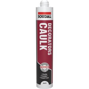 View Soudal 380ml White Decorators Caulk details