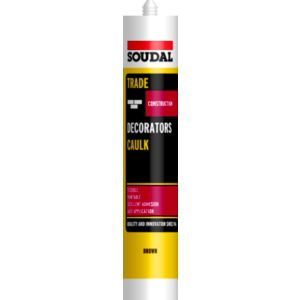 View Soudal 380ml Brown Decorators Caulk details