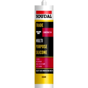 View Soudal Multi-Purpose Clear Sealant 300 ml details