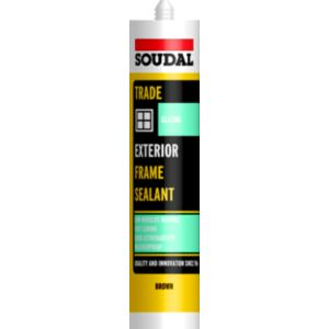 View Soudal Brown Flexible Glazing & Frame Sealant details