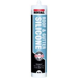 View Soudal Black Roof & Gutter Sealant 300ml details