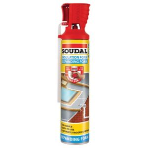 Image of Soudal Genius gun Beige Expanding foam 750ml