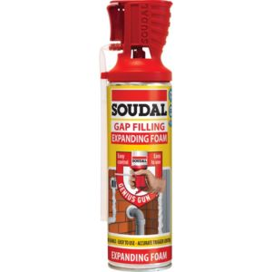 Image of Soudal Beige Gap filling expanding foam 500 ml
