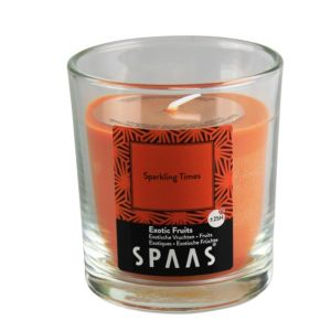 Image of Spaas Exotic fruits Glass candle Small
