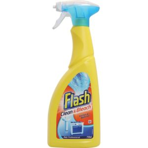Image of Flash Clean & Bleach Cleaning spray 750 ml