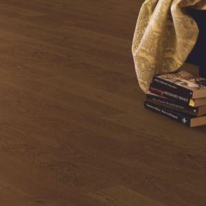 Image of Quick-step Cadenza Cognac Oak effect Real wood top layer flooring Sample