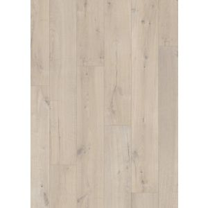 Aquanto Light grey Brushed effect Laminate flooring Sample