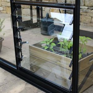 "Image of Halls Qube 24"" Greenhouse louvre"
