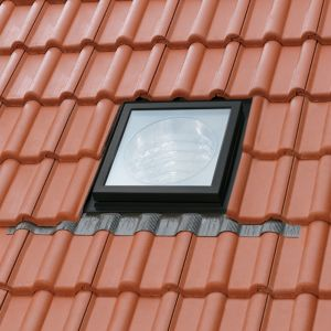 View Velux Dark Brown Aluminium Fixed Sun Tunnel (H)460mm (W)460mm (L)2000mm details