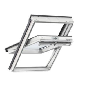 View White Timber Centre Pivot Roof Window (H)980mm (W)780mm details