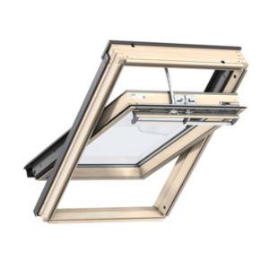 Pine Centre Pivot Roof Window (H)1400mm (W)940mm