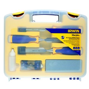 View Irwin Chisel & Sharpening Set, Pack of 3 details