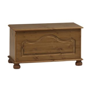 View Malmo Stained Pine Ottoman (H) 450 mm (W) 828 mm details