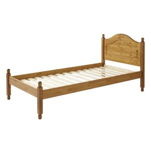 View B&Q Single Pine Single Bed (H)935 mm (W)1.002 M (D)1.997 M details
