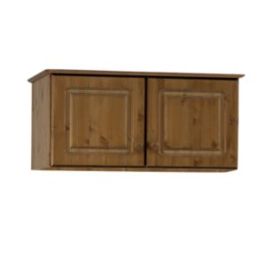 View Malmo Stained Pine 2 Door Top Box (H) 416 mm (W) 883 mm details