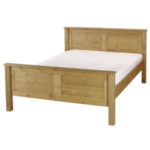View B&Q Double Pine Double Bed (H)910 mm (W)1.507 M (D)2.037 M details
