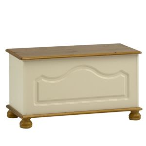 View Oslo Cream Storage Chest (H) 450 mm (W) 828 mm details