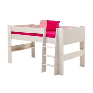 View Wizard White Wash Pine Bed Frame (H)1.131 M (W)2.06 M (D)1.14 M details