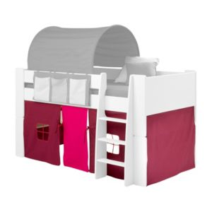 View Wizard Pink, Purple & White Cotton & Polyester Bed Tent details