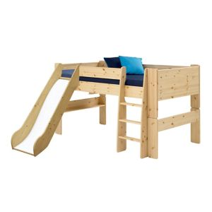 Image of Wizard Mid Sleeper Bed with Slide