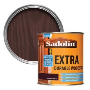 View Sadolin Extra Durable Jacobean Walnut Woodstain 500ml details