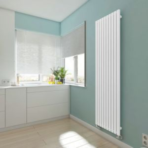Terma Winchester Vertical Radiator Soft White Matt (H)1800 mm (W)490 mm