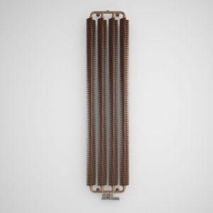 Terma Ribbon Vertical Radiator Copper Powder coated satin (H)1720 mm (W)390 mm