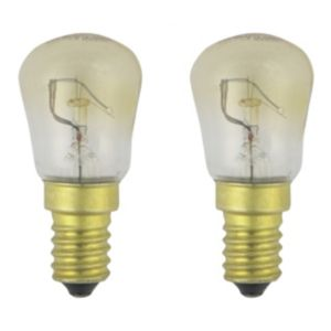 View GE Small Edison Screw Cap (E14) 25W Incandescent GLS Light Bulb details