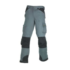 View Blackrock Grey 300G Polyester Cotton Work Trousers W40