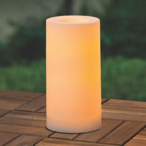 View Warm White LED Outdoor Candle details