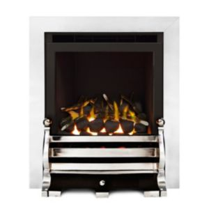 Image of Fairfield Glass Fronted Inset Full Depth High Efficiency Gas Fire