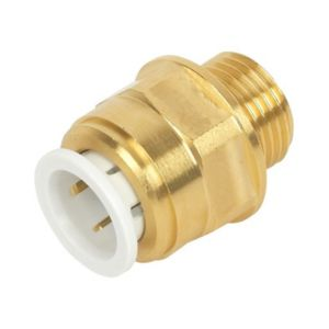 View JG Speedfit Brass Push Fit Cylinder Connector (Dia)15 mm details