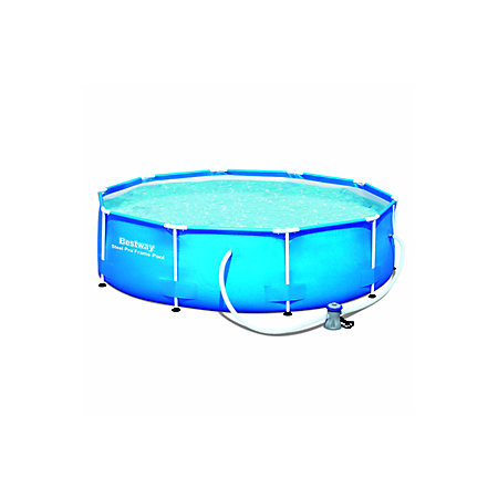 Bestway round plastic pool x x for Plastik pool rund