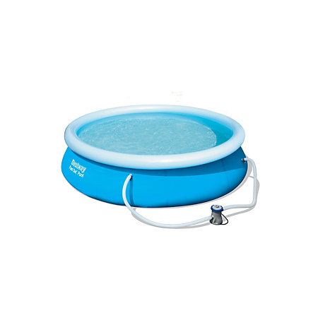 Fast set round plastic pool x x for Plastik pool rund