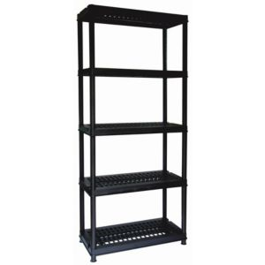 View Keter Mega 5 Shelf Plastic Shelving Unit details